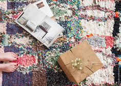 I had been searching and scouting the web forever, looking for the perfect Boucherouite rug to add a pop of color to my space. And I finally found it. Secret Berbère is a duo, Wilfrid and Lamia, who lives 6 months a year in one of the poorest areas in Morocco far away from the...