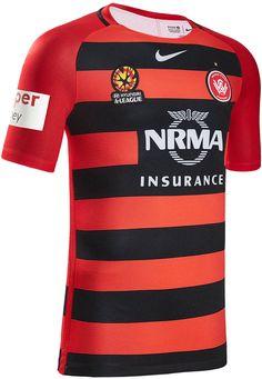 aebb9dd04 The Western Sydney Wanderers 16-17 jerseys introduce modern designs. Soccer  Boots