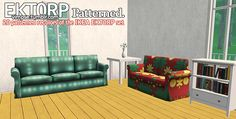 I recently downloaded Trapping's EKTORP sofa-bed and then I quickly realized I didn't have nearly enough patterned recolors of that sofa - which is a shame, because it's quite a good set. So I made...