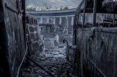 Revolution in Ukraine, Kyiv, 2014. Future begins now. Revolt.