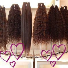 So many lengths & textures of Indian Virgin Hair to chose from. Check out www.ihi.co.in