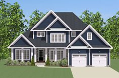Plan 46293LA: Traditional House Plan with Wrap-Around Porch