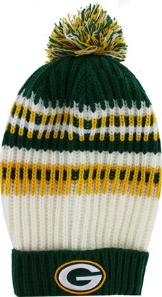 Green Bay Packers Wintry Banded Women s Knit Hat d9460d55e0c
