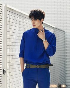 Lee Dong Wook looks fine as good wine in latest fashion spread