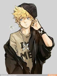 Kingdom Hearts. Looks kinda like Yukine from Noragami   -  #PunkStyle #punkstyleFeminino #punkstylePhotoshoot #punkstylePlusSize