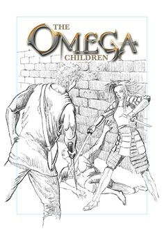Pencils done for book 3 in the series The Omega Children.