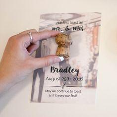 First Toast Photo Quote, DIY Wedding Photo. Wedding Gift