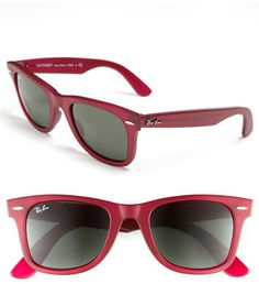 #Ray-Ban                  #Eyewear                  #Ray-Ban #'Classic #Wayfarer' #50mm #Sunglasses #Matte #Red/ #Green #NONE     Ray-Ban 'Classic Wayfarer' 50mm Sunglasses Matte Red/ Green NONE                                        http://www.seapai.com/product.aspx?PID=5359528