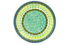 Polish Pottery 8-inch Plate | Boleslawiec Stoneware | Polmedia H1472B