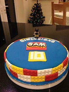 Lego Dimensions Birthday cake
