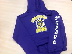 5th Grade Stafford Lion hoodies