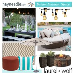 Enter to win a $2,500 shopping spree by styling your outdoor space with Laurel & Wolf and Hayneedle! http://polyv.re/1C5VP9Z