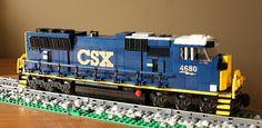 CSX SD70MAC   Flickr - Photo Sharing!