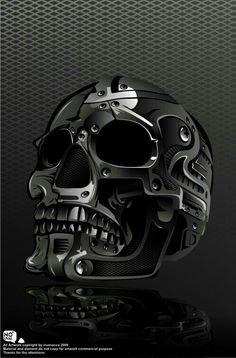 Metal SKULL by ~inumocca on deviantART