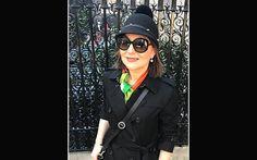 Scarf: Susannagh Grogan, hat: Joanne Hynes for Dunnes Stores, bag: Holden Leather Goods.