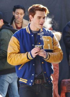 Hub of leather present Archibald KJ Apa Jacket and the Hollywood Star Archibald Andrew wore this fabulous jacket to play the character of K.J Apa and get spotted we present this outfit in reasonable price at our store