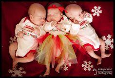 Erika Jackson Photography - The Blog: Triplets! | Adalyn, Benjamin & Caleb