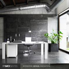 With FAMO SWISS, the office becomes your second home!  #FamoSwiss -- Con FAMO SWISS, ¡la oficina es tu segunda casa! #FamoSwiss