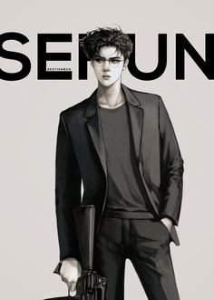Sehun, Kpop Exo, Kaisoo, Chanbaek, Exo Ot12, K Pop, Akali League Of Legends, Exo Anime, Ariana Grande Drawings