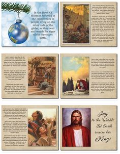 A free slideshow of the Christmas story as it reads from the Holy Scriptures.