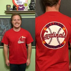 b439083a0b9 Vintage 80s St. Louis Cardinals Shirt Large MLB Baseball Team Double Sided  1980s T-Shirt