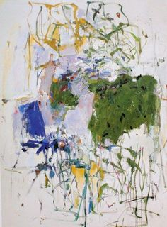 Juan Mitchell Untitled, Oil on canvas, 108 x 79 inches x cm). Collection of the Joan Mitchell Foundation, New York Joan Mitchell, Oil Painting Abstract, Abstract Art, Large Painting, Abstract Nature, Art Moderne, Colorful Paintings, Oeuvre D'art, Les Oeuvres