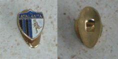 ATALANTA BC Soccer Italy buttonhole pin Italia calcio distintivo badge football