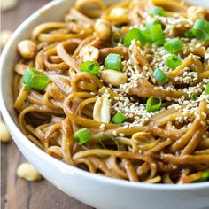 nowcooking: Thai Peanut Sesame Noodles