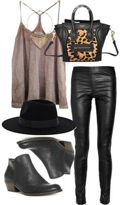 Celine Luggage Mini Handbag Leopard