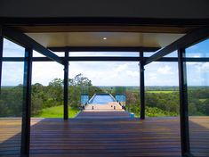 This incredible Design-Build Project takes in views to the North and overlooks Peregian, Noosa Heads and the Glass House Mountains. Shipping Container Pool Cost, Shipping Containers, Building Design, Building A House, Butterfly Roof, Jacuzzi Outdoor, Tropical Pool, Sunshine Coast, Glass House