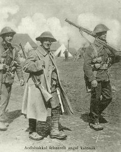 WWI, British soldiers
