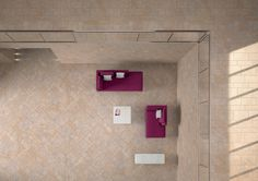 IneOut collection Percorsi Quartz Sand #living #viewzenith #sandcolour #ceramichekeope