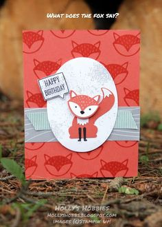 A Little Foxy Trio for FabFri89
