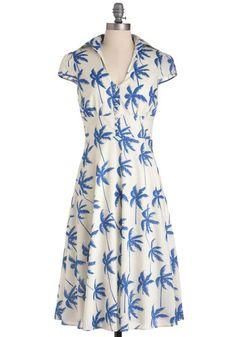 40's style summer dress