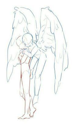 Art Drawings Sketches Simple, Cute Drawings, Drawing Ideas, Tattoo Drawings, Easy Manga Drawings, Pencil Drawings, Drawing Tips, Drawing Couple Poses, Couple Kiss Drawing