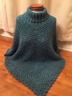 Sporty Poncho By Salena Baca - Free Crochet Pattern - (ravelry)