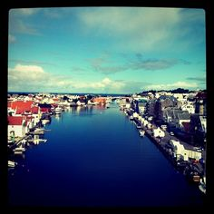 Haugesund, Norway where my dad is from:)