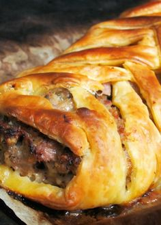 Low FODMAP Recipe and Gluten Free Recipe - Spiced sausage plait