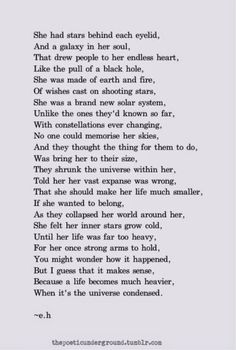 What are some awesome poems I can write about for my project?