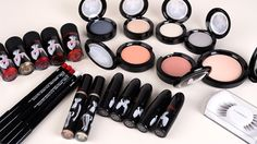 M.A.C Makeup Marilyn Monroe collection. Fall 2012.