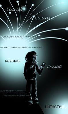 U N I N S T A L L by NettikGirl