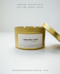 We had the best time working with @shereadstruth! #repost  Introducing the Christmas Cabin candle our favorite festive blend of spruce and cranberry. It was created exclusively for #SheReadsTruth in partnership with our friends at @southernfireflycandle! Find this and all kinds of other holiday joy at Giftguide.SheReadsTruth.com.