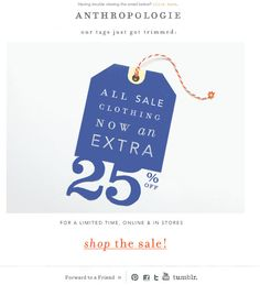 Anthropologie 4th of july | Summer Inbox Report