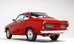 Fiat Abarth 850 Coupé Scorpione Allemano (1959-62)
