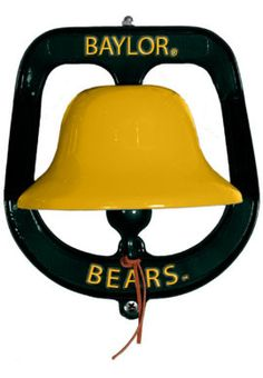 #Baylor University Bears Spirit Bell // For ringing loud and proud after every Baylor win? Just a thought. #SicEm