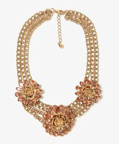 Rosette Collar Necklace | FOREVER21 - 1019572824