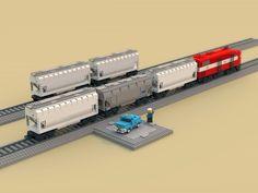 Lego Super Mario, Super Mario Bros, Cool Minecraft Houses, Minecraft Skins, Minecraft Buildings, Hms Hood, Lego Ship, Lego Trains, Train Engines