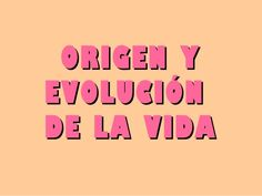 La evolucion de los seres vivos. (1) by merchemartalaura via slideshare