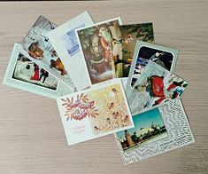 USSR 80s vintage greeting cards Happy new Year