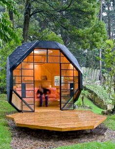 Polygon Building | Nature Cabin | Micro Home | Architecture Trend | Cottage House | Green Design